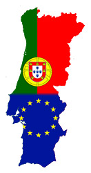 Portugal-Map-Flag